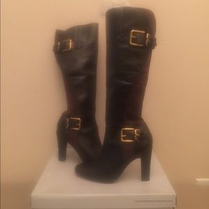 Jessica Simpson Collection Rugged Brown Stretch